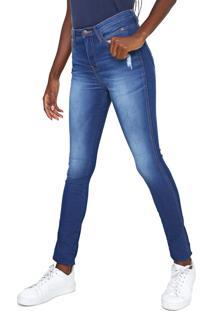 Calça Jeans Calvin Klein Jeans Skinny Sculpted Azul