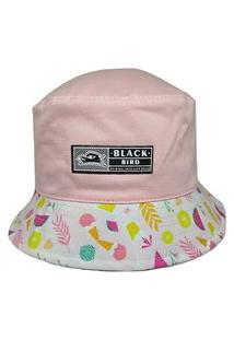 Chapéu Bucket Hats Black Bird Thb 68/R