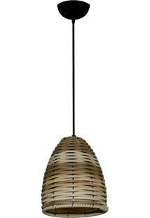 Lustre Pendente De Junco Modelo Sino Pinus Ideal Para Chacara / Sitio