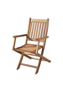 Cadeira Dobravel Com Braco Cor Stain Jatoba - 15555 Jatoba