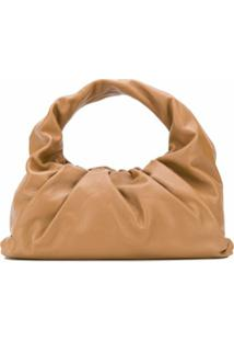 Bottega Veneta Bolsa Tote The Shoulder Pouch - Marrom