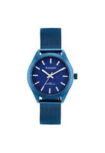Relógio Akium Feminino Aço Azul - Tml6982N1 - Blue