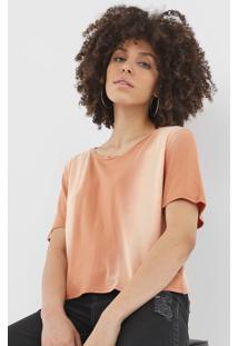 Camiseta Lança Perfume Lisa Laranja - Kanui
