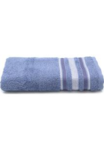 Toalha De Banho Santista Prata Serena 70Cmx1,35M Azul