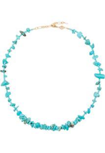 Anni Lu Colar 'Reef' Com Turquesa E Contas - Azul