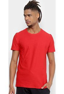 Camiseta Kohmar Flamê Masculina - Masculino-Vermelho