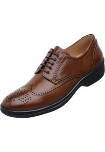 Sapato Long Time Bronze Sc08 Multicolorido