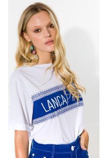 T-Shirt Descolada Lança Perfume Tshirt Branco