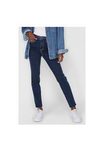 Calça Jeans Enfim Skinny Pespontos Azul