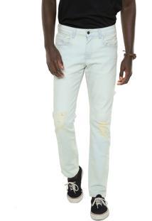 Calça Jeans Billabong Reta Worn I Azul