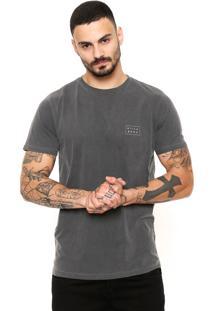 Camiseta Billabong Die Cut Cinza