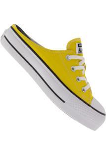 Tênis Mule Converse All Star Chuck Plataforma Ct1210 - Feminino - Amarelo