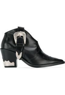 Toga Pulla Ankle Boot Western - Preto