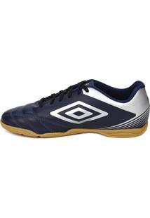 Tênis Futsal Umbro Striker Iv Indoor Azul Marinho/Prata