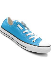 Tênis Converse Chuck Taylor All Star - Feminino-Azul+Preto