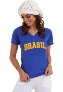 T-Shirt Manola Brasil Azul