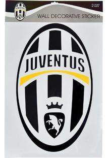 Cartela Com 4 Adesivos De Parede Juventus