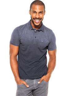 Camisa Polo Sergio K Bolso Azul-Marinho