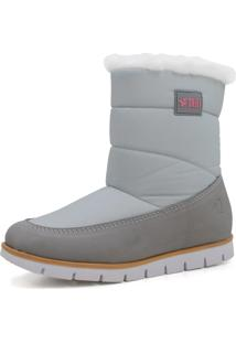 Bota Feminina Cozy Snug Boot Forrada Em Lã Sintética Ref.:21509 - C