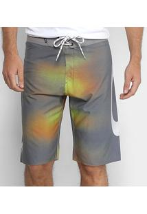 Bermuda Oakley Tormenta Boardshorts Masculina - Masculino-Chumbo