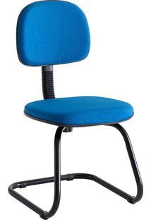 Cadeira Com Balanço Sem Braço 808-Unimóvel - Azul
