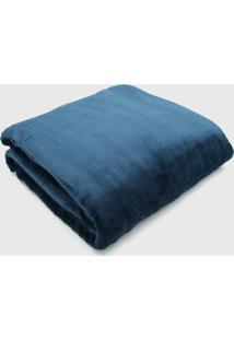 Cobertor Casal Kacyumara Blanket Azul