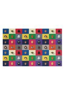 Jogo Americano (Kit 4 Unidades) Nerderia E Lojaria Star Ware Minimalista Colorido