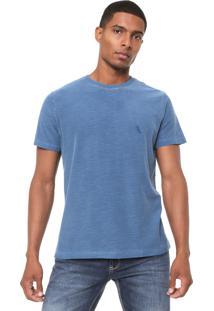 Camiseta Reserva Flame Estonada Azul