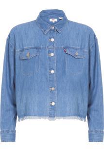 Camisa Feminina Ash - Azul