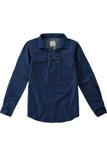 Camisa Jeans Amarração Malwee