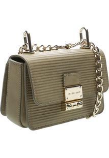 Bolsa Clutch Listrada - Verde Militarschutz