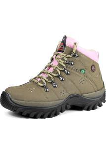 Bota Coturno Adventure Feminina Sw Shoes Lançamento Oliva