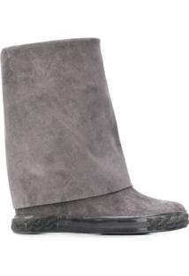 Casadei Ankle Boot Renna - Cinza
