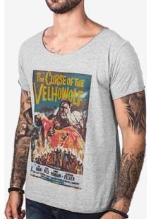 Camiseta Hermoso Compadre The Curse Masculina - Masculino-Cinza