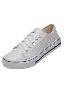 Tênis Sapatenis Casual Feminino Mr Try Shoes Branco