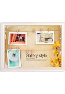 Porta Retrato Dolce Home Forever 44X34Cm Branco