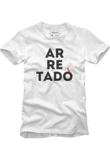 Camiseta Reserva Arretado Masculina - Masculino-Branco