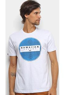 Camiseta Hd Estampa Pointless Masculina - Masculino-Branco
