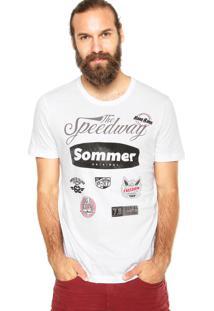Camiseta Sommer Lav Branca