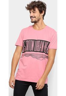 Camiseta Triton1975 Urban Masculina - Masculino-Rosa