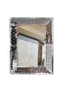 Espelho Veneziano Bisotado Decorativo Sala Quarto Als 54