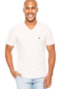 Camiseta Nautica Conforto Rosa