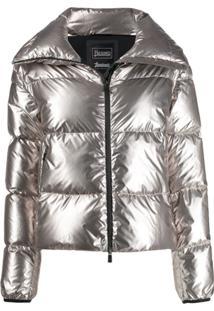 Herno High-Neck Puffer Jacket - Cinza