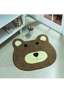 Tapete Dourados Enxovais Formato Urso Castor