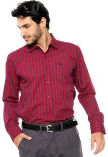 Camisa Red Nose Geométrica Vermelha