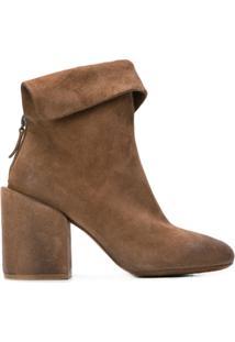 Marsèll Ankle Boot Com Aba - Marrom