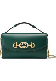 Gucci Gucci Zumi Mini Shoulder Bag - Verde