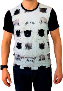 Camiseta Ops Cats Estampada