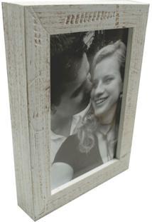 Porta-Retratos Photo Frame 1 Foto 10X15 Branco Kapos