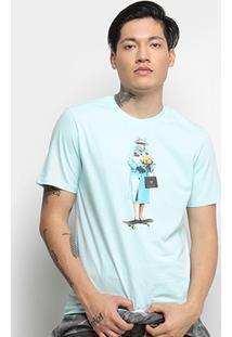 Camiseta Cavalera T Shirt Skate Queen Masculina - Masculino